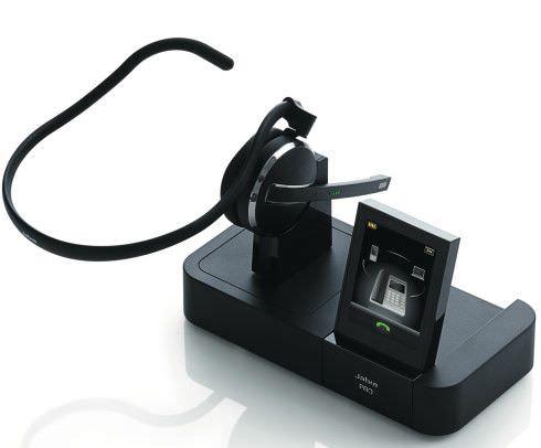 Jabra PRO 9470 mit DECT und Bluetooth