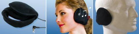 Q-Sonic Kopfhörer mit Ohrenschützern