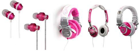 Skullcandy: Pinke Kopfhörer für Mädchen