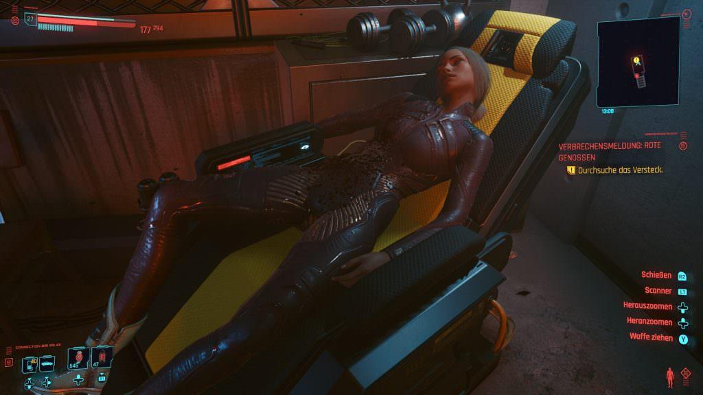 Cyberpunk 2077 - Rote Genossen Lösung